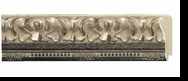 Custom Picture Frame Style #2059 - Ornate - Antique Silver Finish