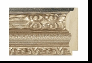 Custom Picture Frame Style #2064 - Ornate - Antique Silver Finish