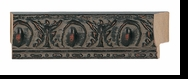 Custom Picture Frame Style #2073 - Ornate - Black Finish