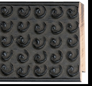 Custom Picture Frame Style #2084 - Ornate - Black Finish