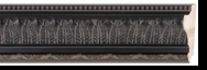 Custom Picture Frame Style #2089 - Ornate - Black Finish
