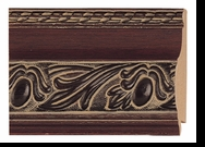 Custom Picture Frame Style #2101 - Ornate - Cherry Finish