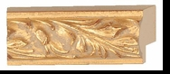 Custom Picture Frame Style #2111 - Ornate - Gold Finish