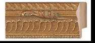 Custom Picture Frame Style #2115 - Ornate - Gold Finish