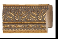 Custom Picture Frame Style #2124 - Ornate - Gold Finish