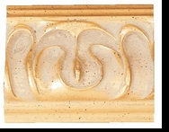 Custom Picture Frame Style #2134 - Ornate - Gold Finish