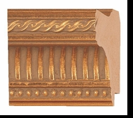 Custom Picture Frame Style #2150 - Ornate - Gold Finish