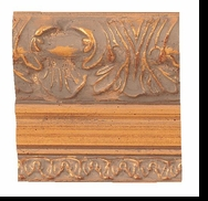 Custom Picture Frame Style #2157 - Ornate - Gold Finish