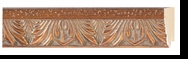 Custom Picture Frame Style #2158 - Ornate - Gold Finish