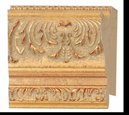 Custom Picture Frame Style #2161 - Ornate - Gold Finish