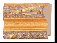Custom Picture Frame Style #2163 - Ornate - Gold Finish