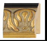 Custom Picture Frame Style #2185 - Ornate - Gold Finish