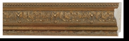 Custom Picture Frame Style #2190 - Ornate - Gold Finish