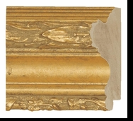 Custom Picture Frame Style #2191 - Ornate - Gold Finish