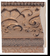 Custom Picture Frame Style #2198 - Ornate - Gold Finish