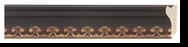 Custom Picture Frame Style #2210 - Ornate - Mahogany Finish
