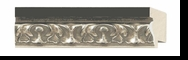Custom Picture Frame Style #2234 - Ornate - Silver Finish