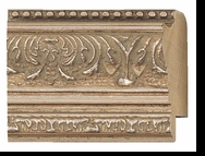 Custom Picture Frame Style #2235 - Ornate - Silver Finish