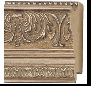 Custom Picture Frame Style #2250 - Ornate - Silver Finish