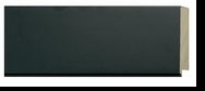 Custom Picture Frame Style #2329 - Contemporary - Black Finish
