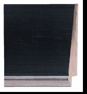 Custom Picture Frame Style #2334 - Contemporary - Black Finish