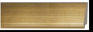 Custom Picture Frame Style #2344 - Contemporary - Gold Finish
