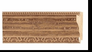 Custom Picture Frame Style #2358 - Distressed/Aged - Antique Gold Finish