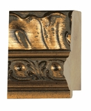 Custom Picture Frame Style #2041 - Ornate - Antique Gold Finish
