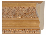 Custom Picture Frame Style #2047 - Ornate - Antique Gold Finish