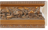 Custom Picture Frame Style #2053 - Ornate - Antique Gold Finish