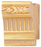 Custom Picture Frame Style #2174 - Ornate - Gold Finish