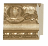 Custom Picture Frame Style #2060 - Ornate - Antique Silver Finish