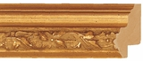 Custom Picture Frame Style #2128 - Ornate - Gold Finish