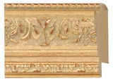 Custom Picture Frame Style #2131 - Ornate - Gold Finish