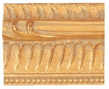 Custom Picture Frame Style #2135 - Ornate - Gold Finish