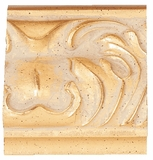 Custom Picture Frame Style #2154 - Ornate - Gold Finish
