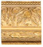 Custom Picture Frame Style #2166 - Ornate - Gold Finish