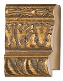 Custom Picture Frame Style #2182 - Ornate - Gold Finish