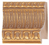 Custom Picture Frame Style #2184 - Ornate - Gold Finish