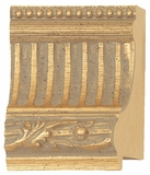 Custom Picture Frame Style #2196 - Ornate - Gold Finish