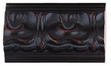 Custom Picture Frame Style #2206 - Ornate - Mahogany Finish