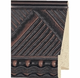 Custom Picture Frame Style #2208 - Ornate - Mahogany Finish