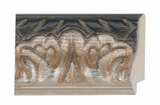 Custom Picture Frame Style #2257 - Ornate - Silver Finish