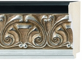 Custom Picture Frame Style #2260 - Ornate - Silver Finish