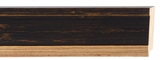 Custom Picture Frame Style #2289 - Traditional - Black Finish
