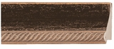 Custom Picture Frame Style #2362 - Distressed/Aged - Black Finish