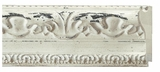 Custom Picture Frame Style #2368 - Distressed/Aged - White Washed Finish