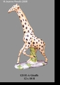 Jeanne Reed's - Giraffe - (tan/brown)