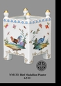 Jeanne Reed's - Bird Medallion Planter