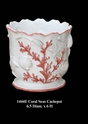 "Jeanne Reed's - ""Coral Seas"" Cachepot"